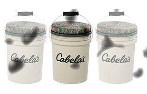 Buy or Bust – Cabela's Bucket and Seat Combo