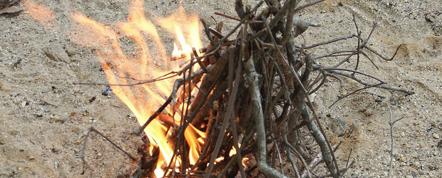 Build A Fire – Without Matches!