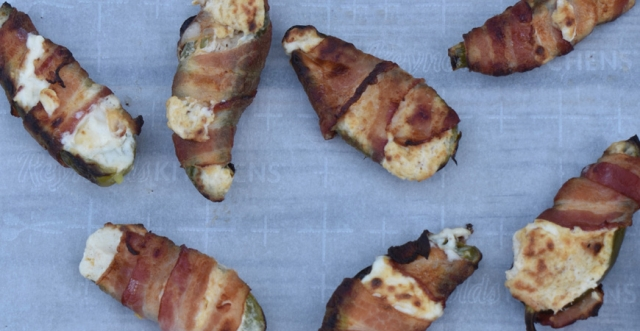 Grilled Wild Game Jalapeño Poppers