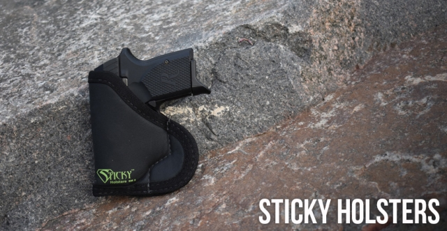 Carry Concealed with Sticky Holsters