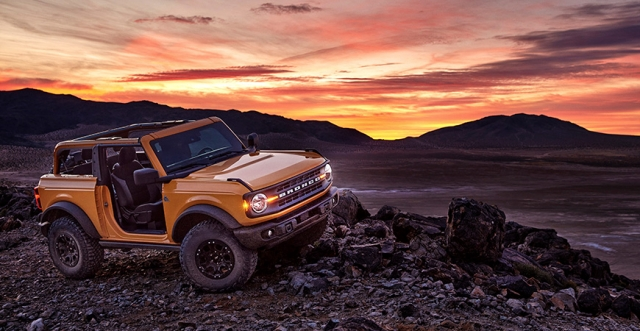The Return of the Ford Bronco