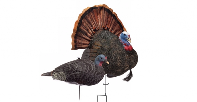 Buy or Bust – RedHead® Reality Series™ Remote Crazy Jake and Mating Hen Turkey Decoy Combo