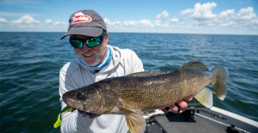 Targeting Walleye in the Land of 10,000 Lakes with Steve Pennaz