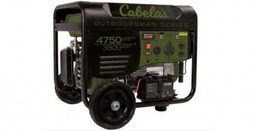 Buy or Bust – Cabela's Outdoorsman 3800/4750-Watt Remote Start Generator