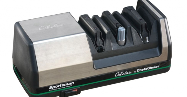 Buy or Bust – Cabela's Chef'sChoice® Sportsman Hunting Electric Knife Sharpener