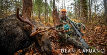 """Maine Moose Hunting with Dean Capuano of """"Swarovski Optik Quests"""""""