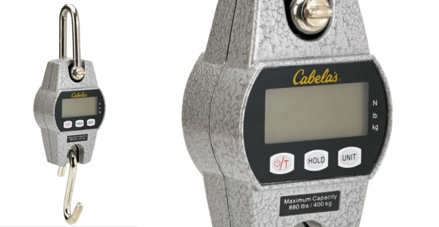 Buy or Bust – Cabela's 880-lb. Digital Scale