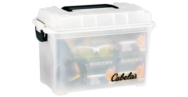 Buy or Bust – Cabela's Clear Dry-Storage Ammunition Box